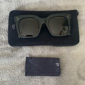 Auth. DISCONTINUED Celine Tilda Black Sunglasses✨